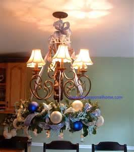 Christmas Ball Chandelier Chandelier Wreaths For Fall Amp Christmas 171 The Seasonal Home