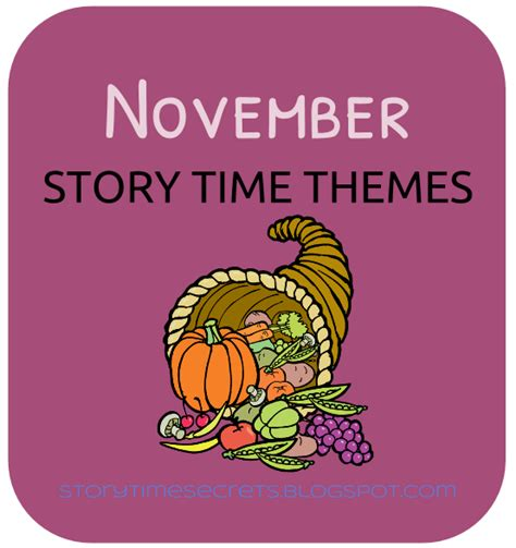 photo themes for november story time secrets november story time themes