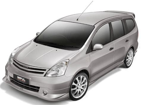 Lu Led Mobil Grand Livina new impul grand livina now available in nissan showrooms