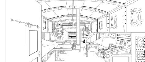 cabine bateau dessins albe