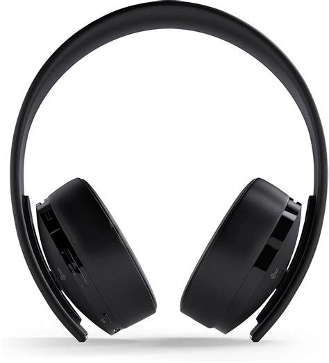 sony ps gold wireless headset black herni sluchatka