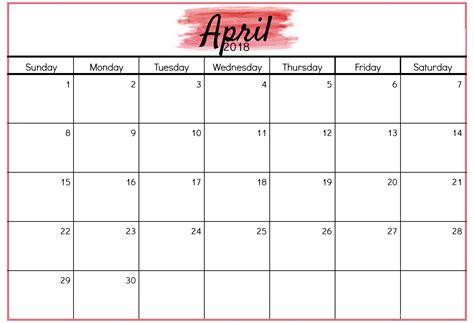 2018 Yearly Calendar Template Word Editable