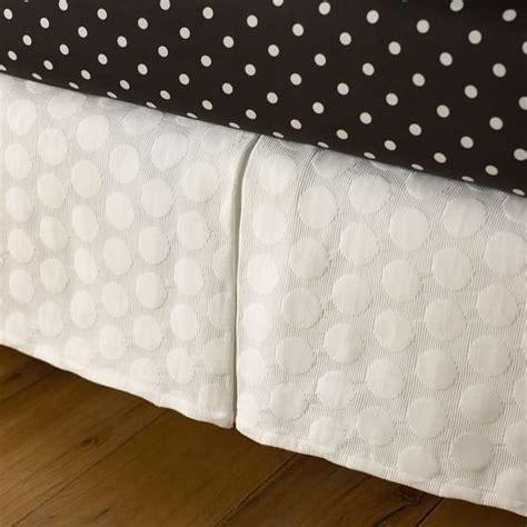 matelasse bed skirt big dot matelasse bed skirt pbteen