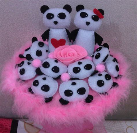 Buket Boneka Hello Wisuda 1 jual buket boneka panda pink pinkyshop