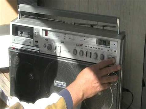 aiwa radio cassette recorder aiwa 880 cs stereo radio cassette recorder 2 band cs 880