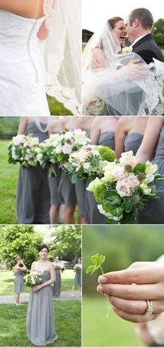 green and gray wedding colors modern destination wedding orange green and gray wedding