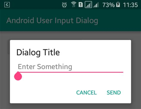 android dialog exle android user input dialog exle viral android tutorials exles ux ui design