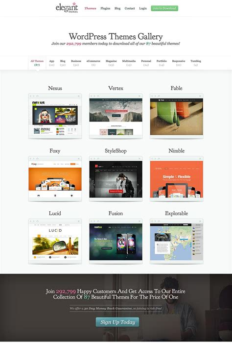 elegant themes gallery woothemes vs elegant themes the ultimate comparison