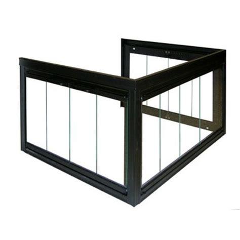 buy fireplace doors glassfyre ii corner