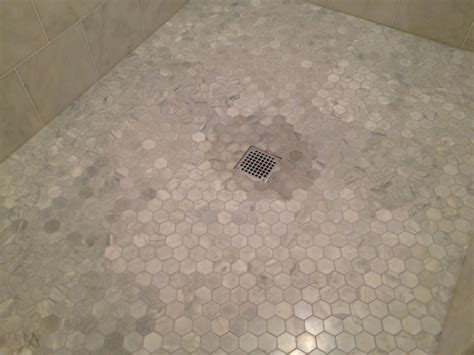 marble shower floor 30 great pictures of marble shower tile