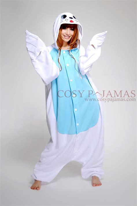 Animal Onesie Pajama seal onesie kigurumi pajamas
