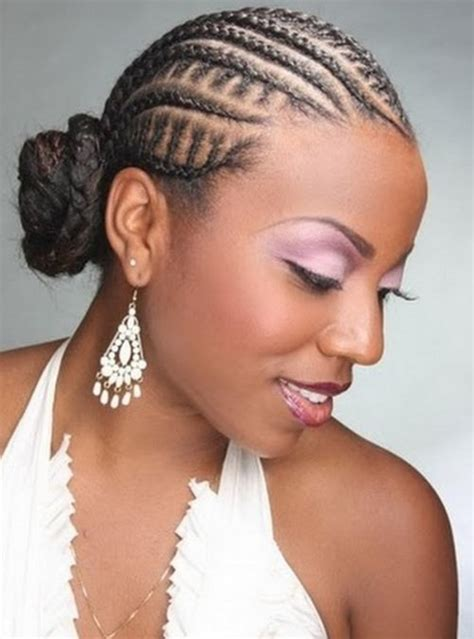 cornrow hairstyles for black women with part in the middle 66 of the best looking black braided hairstyles for 2018