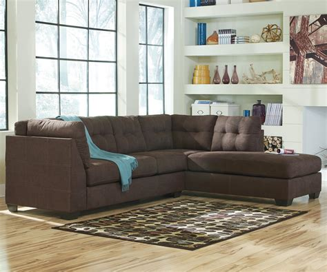 2 Piece Sectional Sofa With Chaise Design Homesfeed Two Sectional Sofa