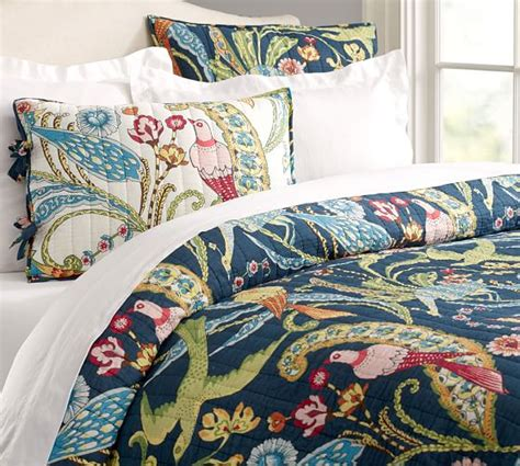 Quilt Pottery Barn by Wholecloth Reversible Quilt Sham Pottery Barn