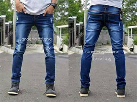 Celana Panjang Tentara jual beli terlaris celana robek ripped jean