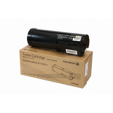 Toner Fuji Xerox Ct202020 Original fuji xerox ct201949 genuine black toner cartridge yield 25k pages