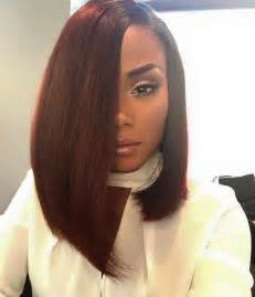 Long Bob Haircuts African American | 1000 ideas about auburn bob on pinterest bobs auburn