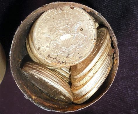 Gold Coins Found In Backyard by California Finds 10m In Gold Coins Buried In Yard