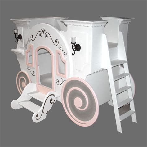 cinderella carriage bed cinderella carriage bunk bed by tanglewood design