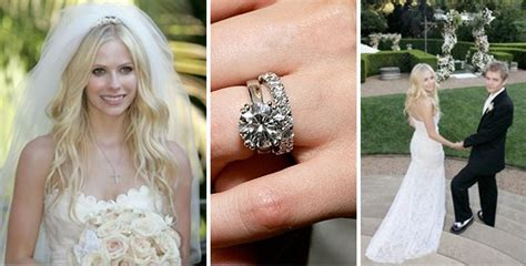 Avril Lavigne & Deryck Whibley   Celebrity Wedding