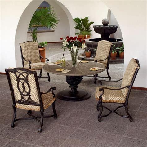 landgrave outdoor furniture villa dining collection by woodard landgrave family leisure
