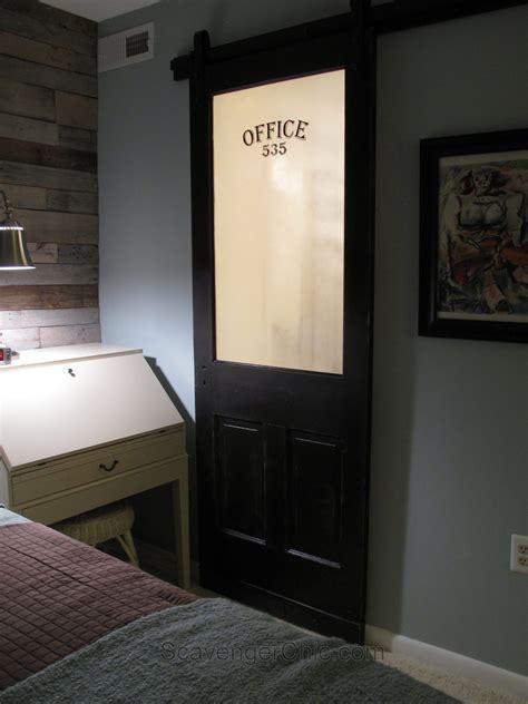 Sliding Barn Door for the Bathroom   My Repurposed Life?