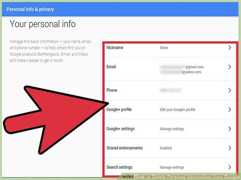 google images information how to delete personal information from google 13 steps