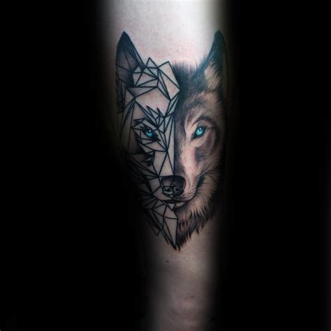 tattoo 3d zeichnen 90 geometric loup tattoo designs for men id 233 es manly