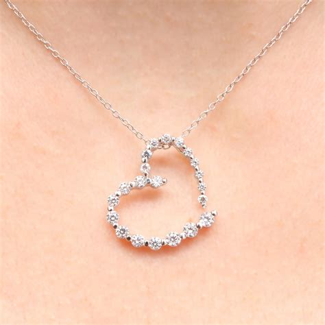 Cz Sterling Silver Pendant sterling silver clear cz pendant necklace sstp00665