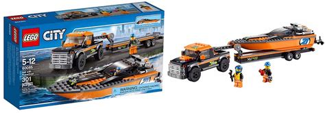 lego 60085 4 215 4 with powerboat i brick city