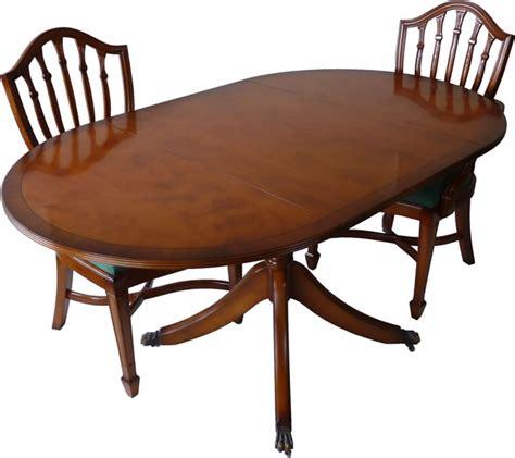 Yew And Mahogany Reproduction Pembroke Dining Tables A1 Reproduction Dining Tables