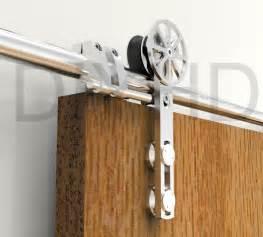 barn door supplies aliexpress buy diyhd 5ft 13ft stainless steel