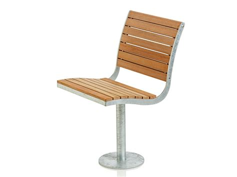 outdoor chair steel and wood outdoor chair parco collection by nola industrier design brda broberg