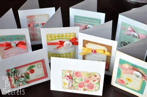 Handmade Sheet Cards - 13 handmade cards 1 sheet of paper pretty much