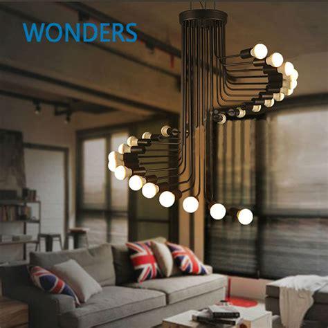 hohe decken aliexpress buy loft modern pendant light iron
