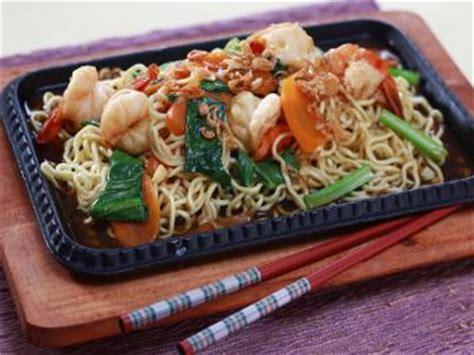 cara membuat mie goreng hotplate cara membuat mie hot plate udang resep mie terbaru