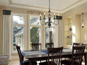 Dining Room Window Treatment by Cornice Window Treatments Dining Room
