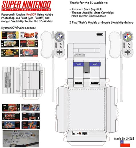Wii Papercraft - wii papercraft picture to pin on thepinsta