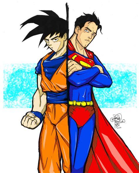 imagenes goku vs superman goku vs superman taringa