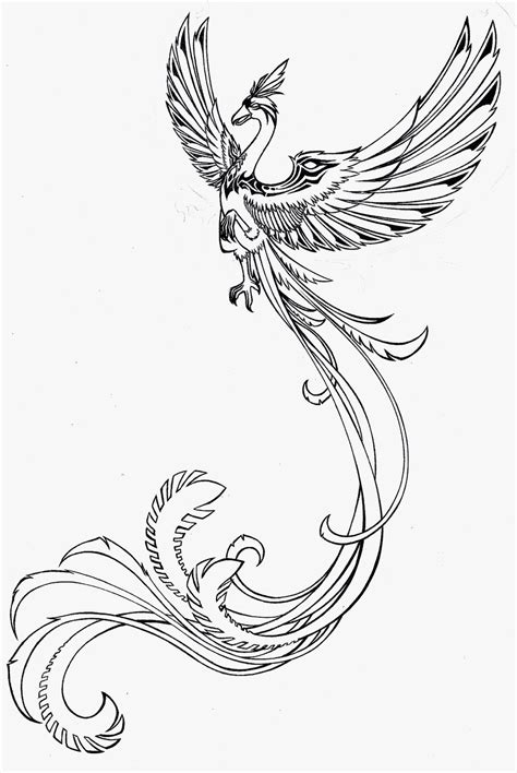 phoenix wings tattoo designs images designs