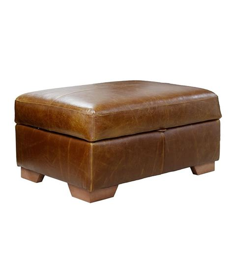 funky ottomans uk 1000 ideas about leather footstool on pinterest storage