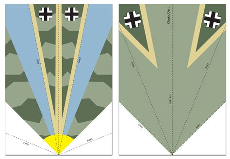 1930s World War Ii Paper Planes Lady Crafthole S Blog Free Paper Airplane Templates