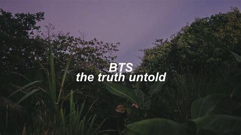 bts the untold lyrics bts the untold lyrics