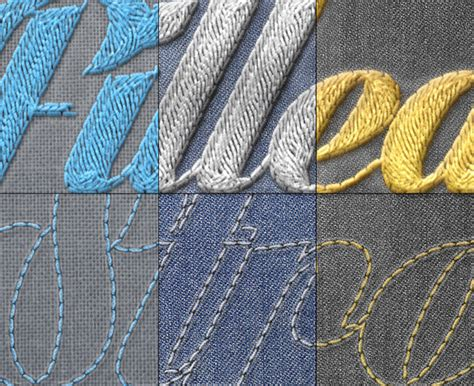 embroidery pattern for photoshop realistic embroidery photoshop actions best designers