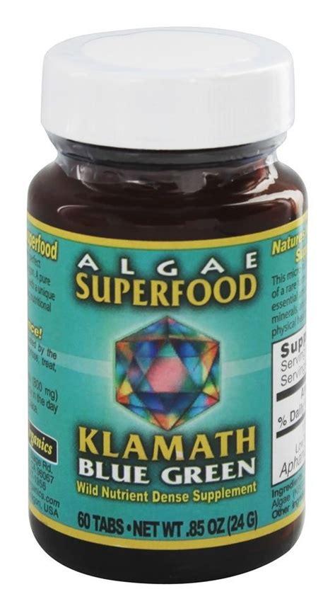 Blue Green Algae Detox Diet by Buy Klamath Blue Green Algae Superfood 400 Mg 60