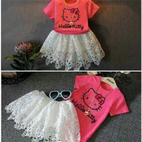 Baju Setelan Cewek Tangtop Rok Import Murah baju dress anak perempuan cantik lucu murah