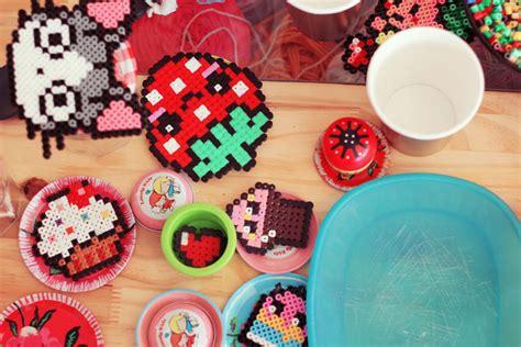 hama food trucs et astuces pour faire une dinette kawaii en perles
