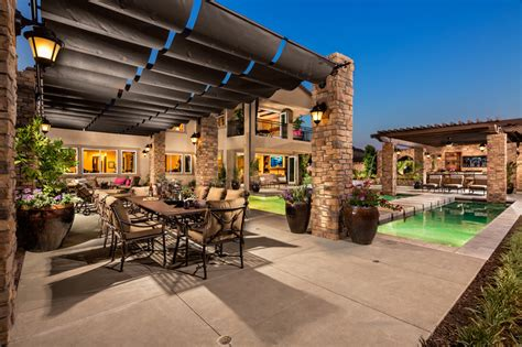 entertaining backyards toll brothers the opportunities for outdoor entertaining
