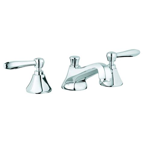 grohe 20072000 atrio polished chrome two handle widespread bathroom faucets efaucets com grohe somerset 8 in widespread 2 handle low arc bathroom