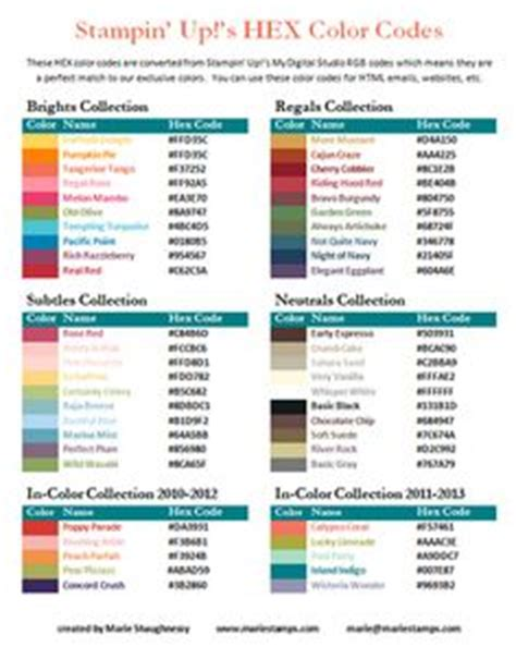 hex codes for the the ec monthly colours vertical layout erin condren layouts